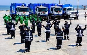 Camisea dona equipos para la seguridad y cuidado ambiental en Pisco